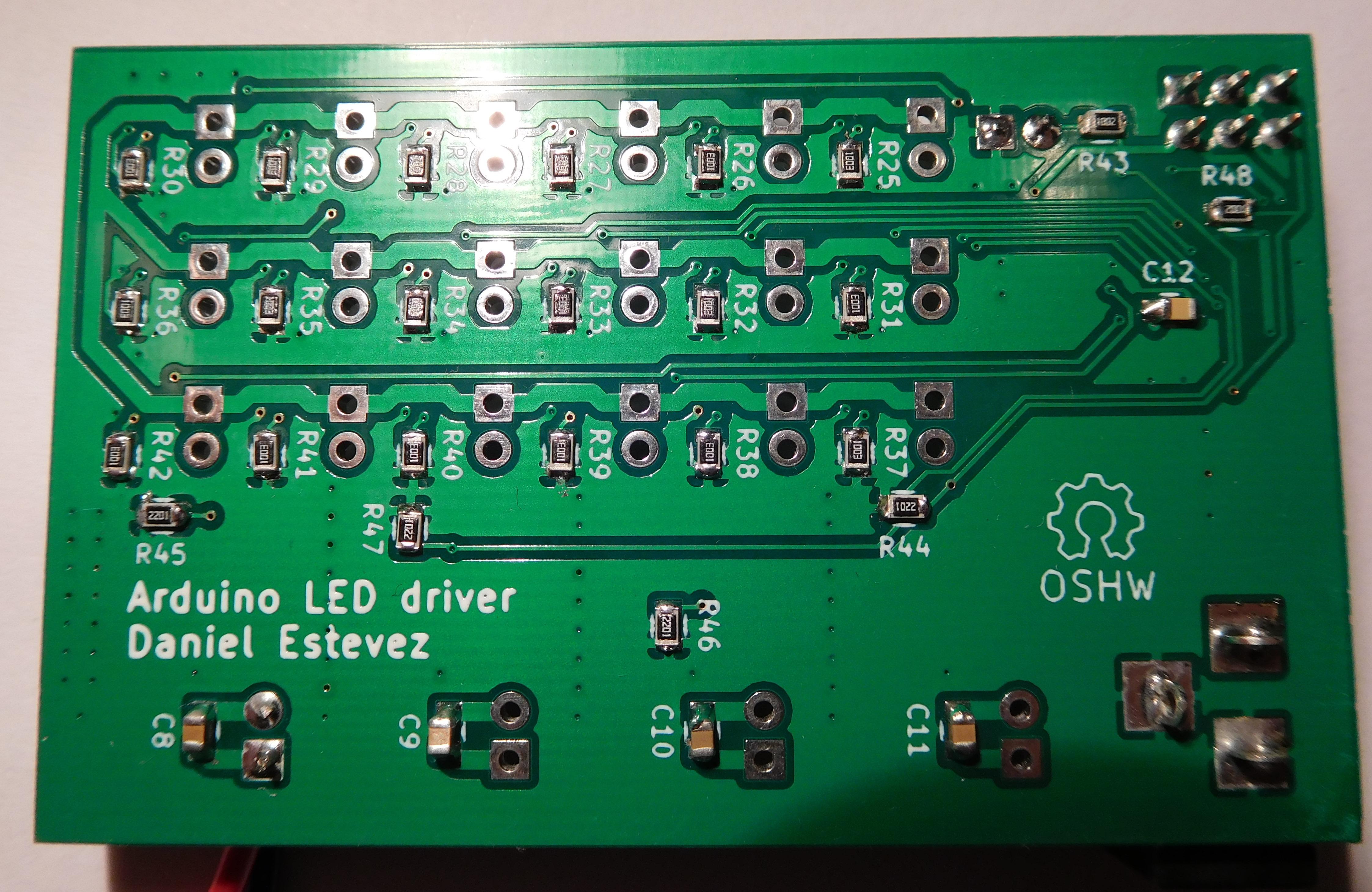 Arduino LED driver: prototype finished – Daniel Estévez