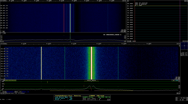 Signal source received through GALI-39