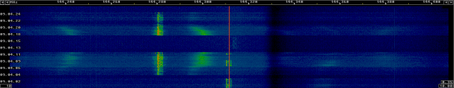 Huge phase noise from a 144MHz station