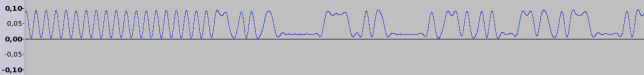 Subaudio signal (after FM demodulation and 250Hz low-pass filtering)