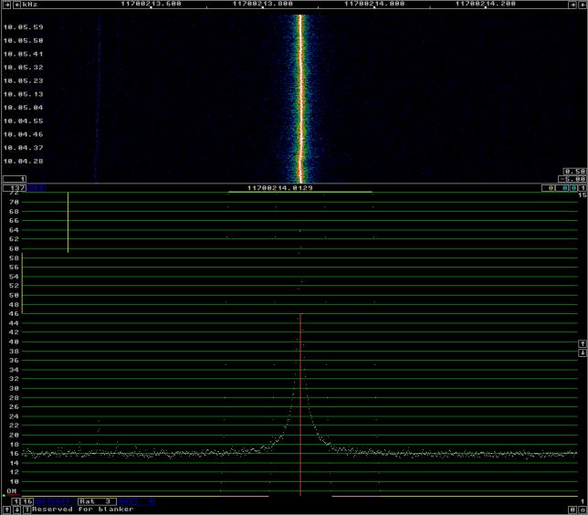 27MHz OCXO (Si5351A XO buffer output)