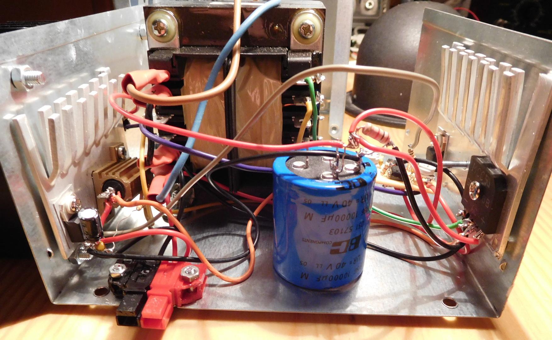 Linear 12V 5A power supply – Daniel Estévez