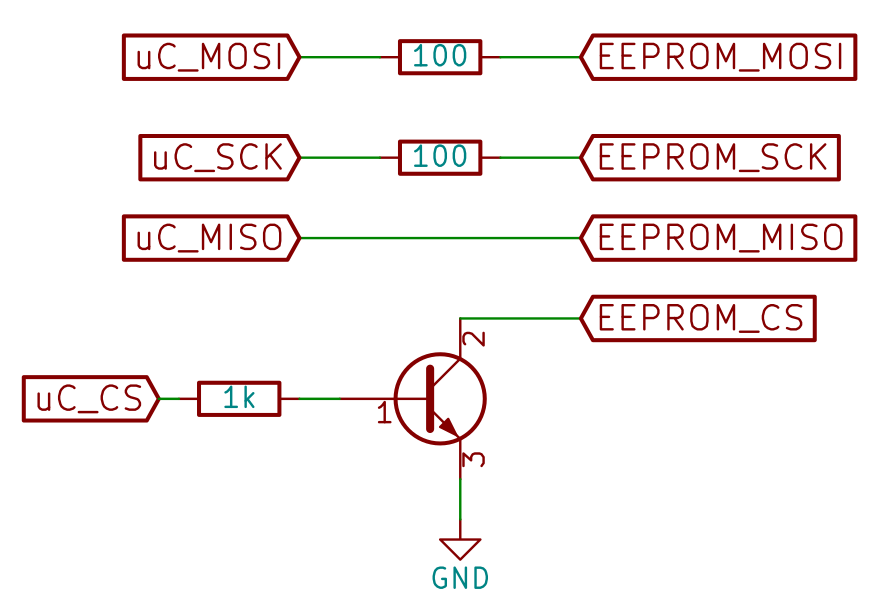 RS92-SGP: Interfacing the EEPROM to a 5V microcontoller