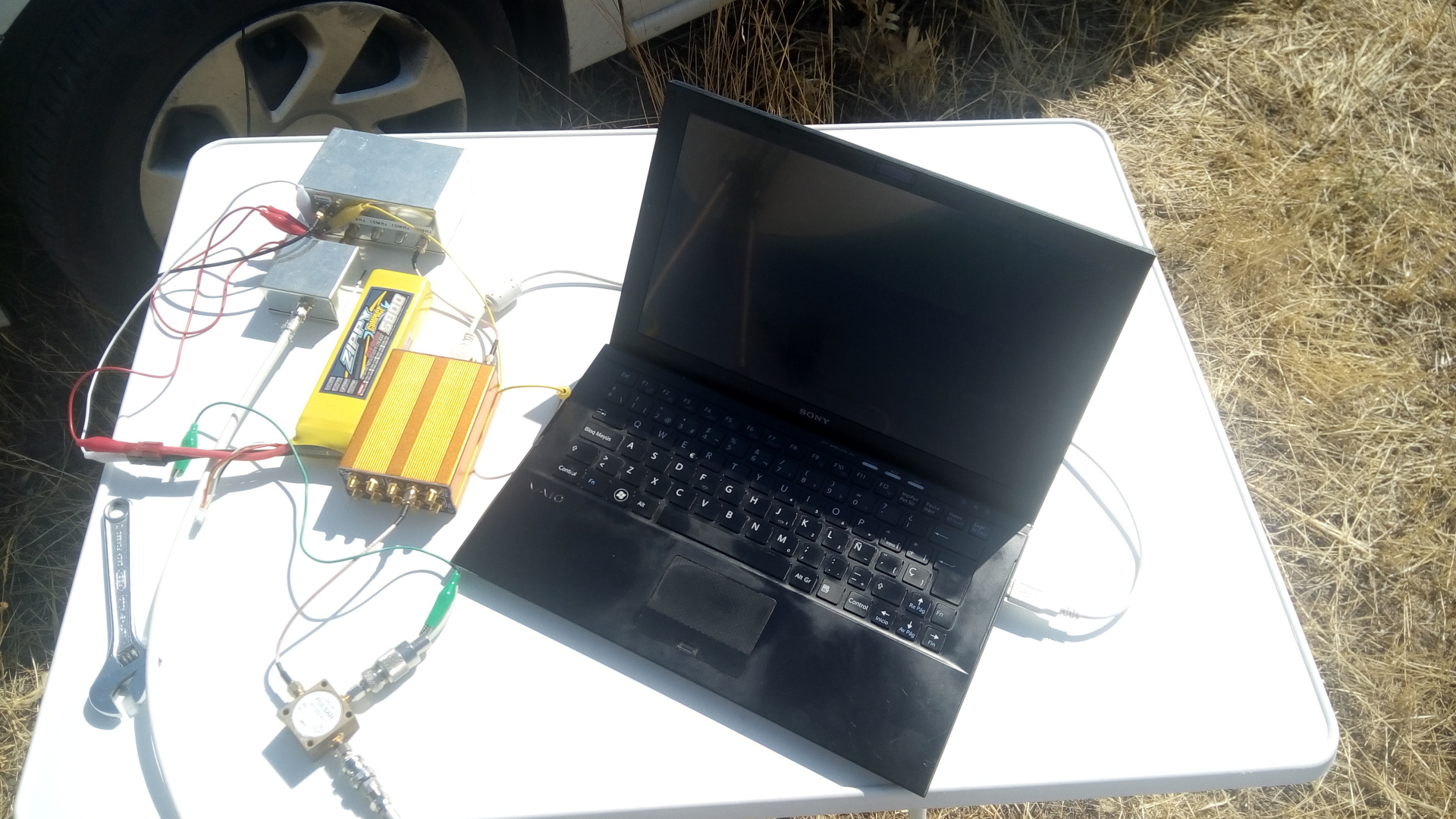 Measuring the ED4YAE 10GHz beacon – Daniel Estévez